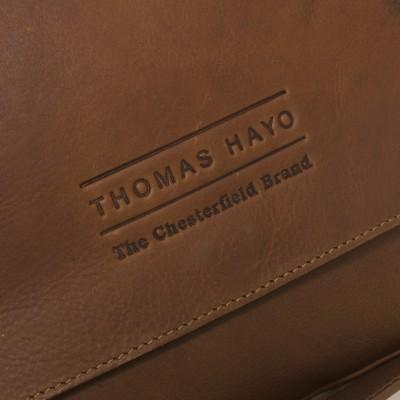 Foto von Leder Umhängetasche T10 Cognac Thomas Hayo