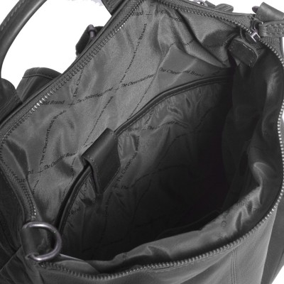 Photo of Leather Backpack Black Nuri