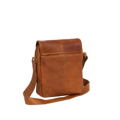 Photo of Leather Shoulder Bag Cognac Remy