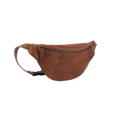 Leather Waist Pack Cognac Eden