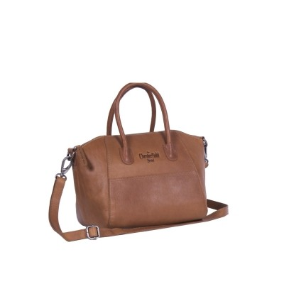 Photo of Leather Shoulder Bag Cognac Alexa