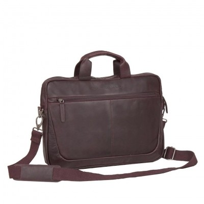 Photo of Leather Laptop Bag Brown Hugo