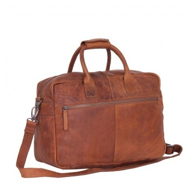 Photo of Leather Shoulder Bag Cognac Yasmin