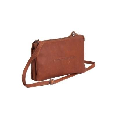 Leather Shoulder Bag Cognac Julia