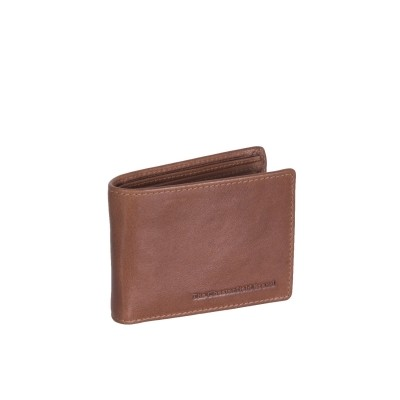Leather Wallet Cognac Martin