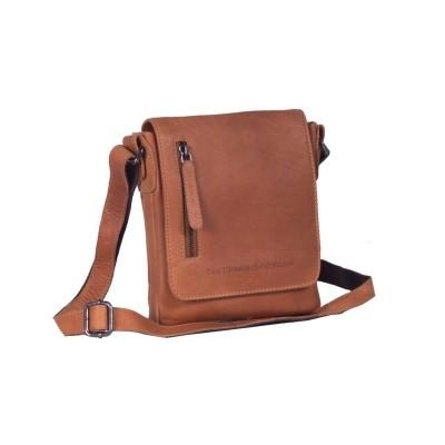 Leather Shoulder Bag Cognac Kira