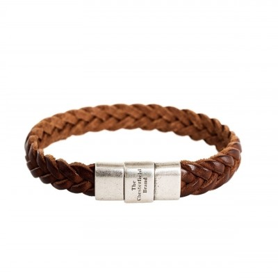 Photo of Leather Bracelet Cognac Java