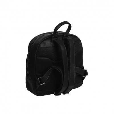 Photo of Leather Backpack Black Dortmund