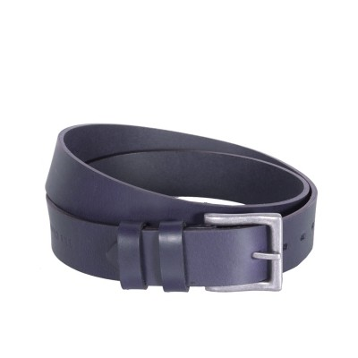 Leather Belt Brandon Navy