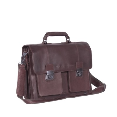 Photo of Leren Shoulder Bag Brown Mario