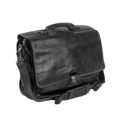 Photo of Leather Briefcase Anthracite Aberdeen