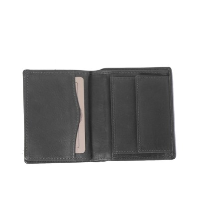 Photo of Leather Wallet Black Hereford