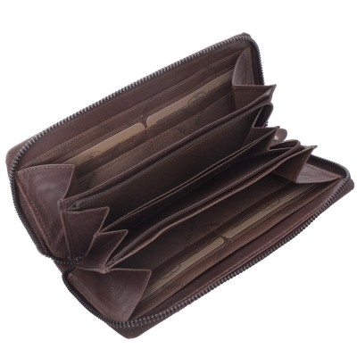Photo of Leather Wallet Brown Nova