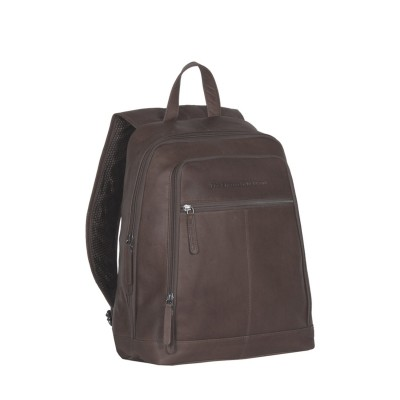 Lederrucksack Braun James