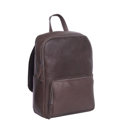 Leather Backpack Brown Ari
