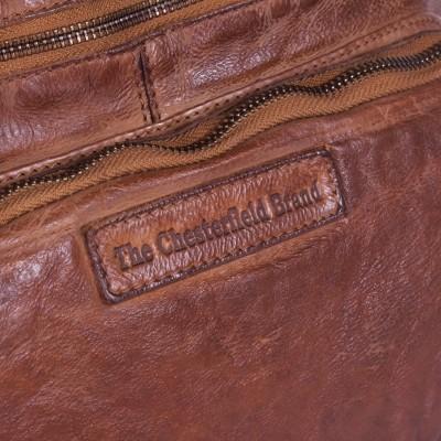 Photo of Leather Shopper Bag Cognac Romy