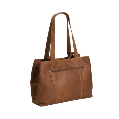 Photo of Leather Shoulder Bag Cognac Gail