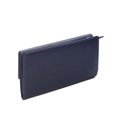 Photo of Leather Wallet Navy Dahlia