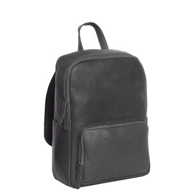 Leather Backpack Black Ari