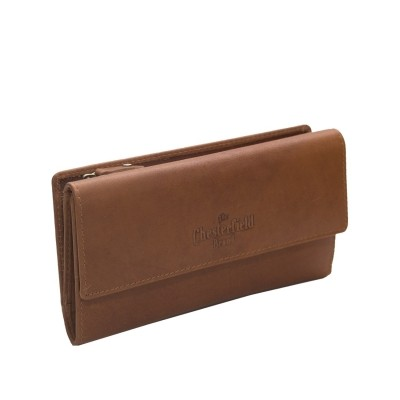 Photo of Leather Wallet Cognac Dahlia