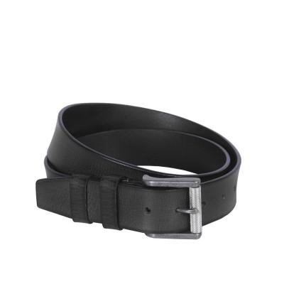 Leather Belt Aayden Black