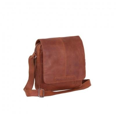 Leather Shoulder Bag Cognac Raphael