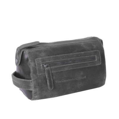 Photo of Leather Toiletry Medium Black Verena