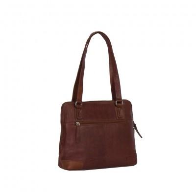 Photo of Leather Shoulder Bag Cognac Manon