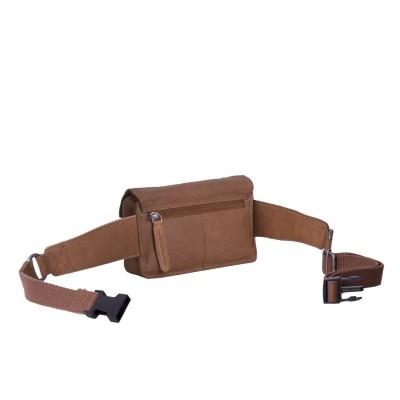 Photo of Leather Waist Bag Cognac Jax