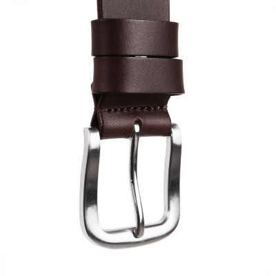 Photo of Leather Belt Brown Beck