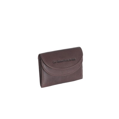 Leather Wallet Small Brown Alma