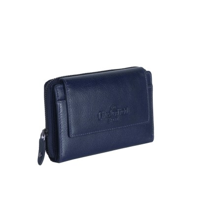 Photo of Leather Wallet Navy Shannon