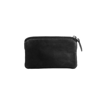 Photo of Leather Key Pouch Black Oliver