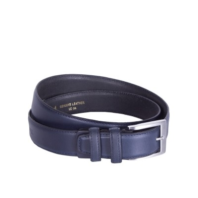 Leather Belt Elliot Navy