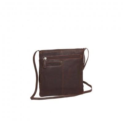 Photo of Leather Shoulder Bag Black Medium August
