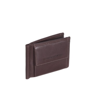 Leather Wallet Brown Joshua