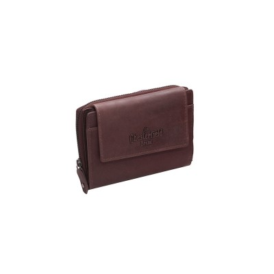 Photo of Leather Wallet Brown Ascot