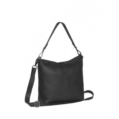 Photo of Leather Shoulder Bag Black Jen