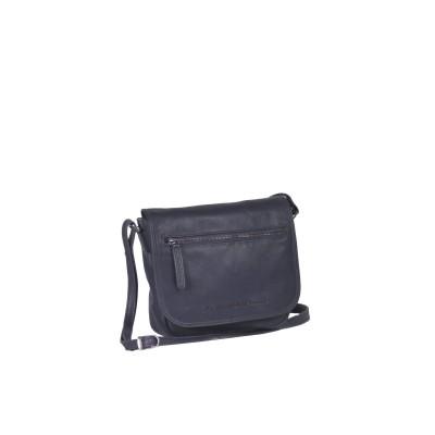 Leather Shoulder Bag Navy Coco
