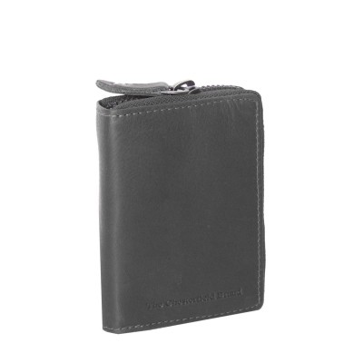 Leather Wallet Black Robin