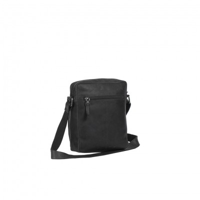 Photo of Leather Shoulder Bag Black Bath