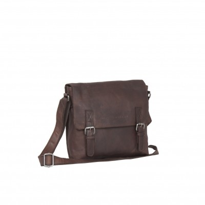 Photo of Leather Shoulder Bag Brown Bay