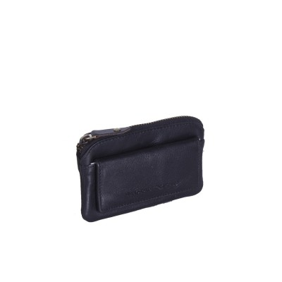 Photo of Leather Key Pouch Black David