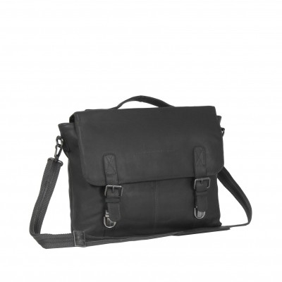 Photo of Leather Shoulder Bag Black Jules