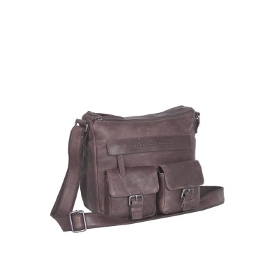 Photo of Leather Shoulder Bag Taupe Monica