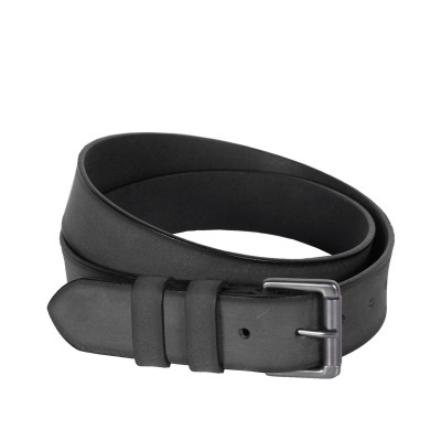 Leather Belt Milan Anthracite