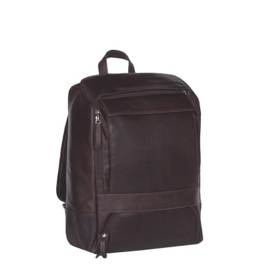 Photo of Leather Backpack Brown Rich
