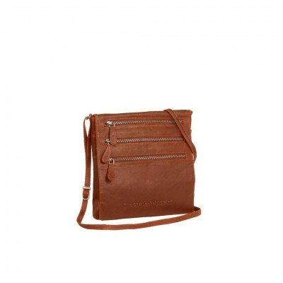 Photo of Leather Shoulder Bag Cognac Medium August