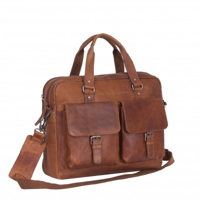 Photo of Leather Laptop Bag Cognac Dylan