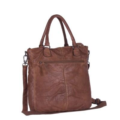 Photo of Leather Shopper Anthracite Olivia